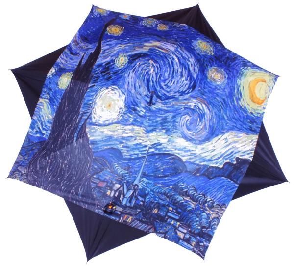 parapluie Van Gogh Nuit étoilée