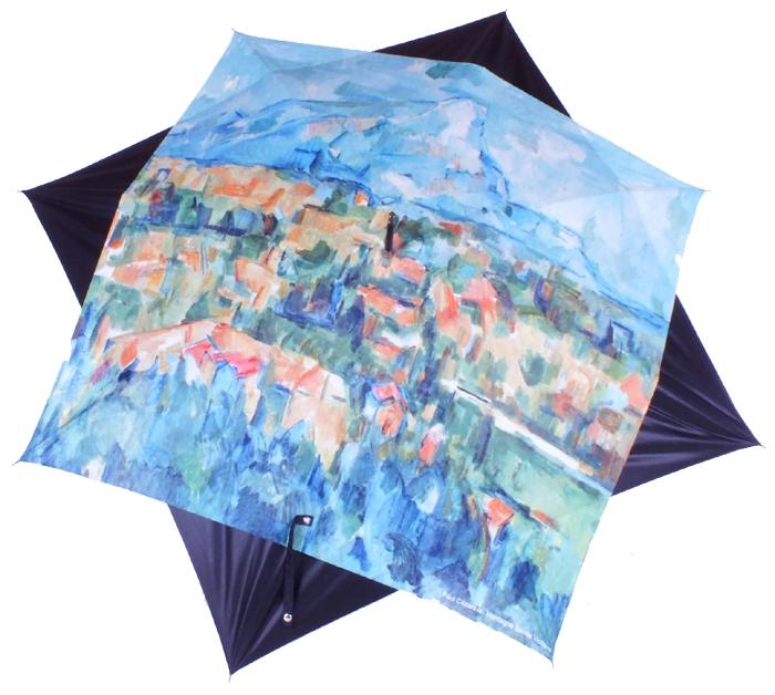 parapluie Cézanne La montagne Sainte Victoire