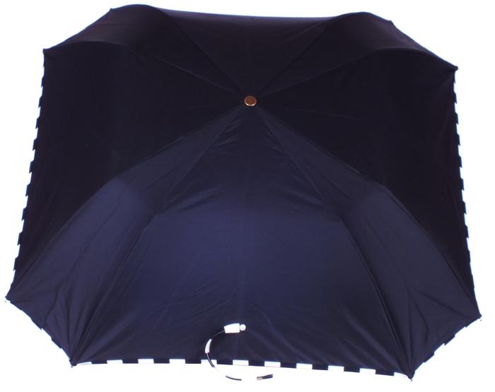 parapluie pliant carré acier noir damier