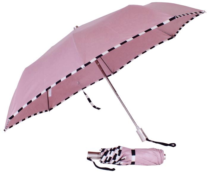 parapluie-mini-damier-rose