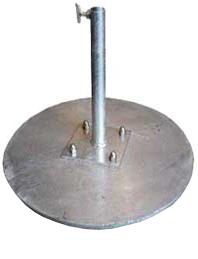 Pied disque acier 20kg