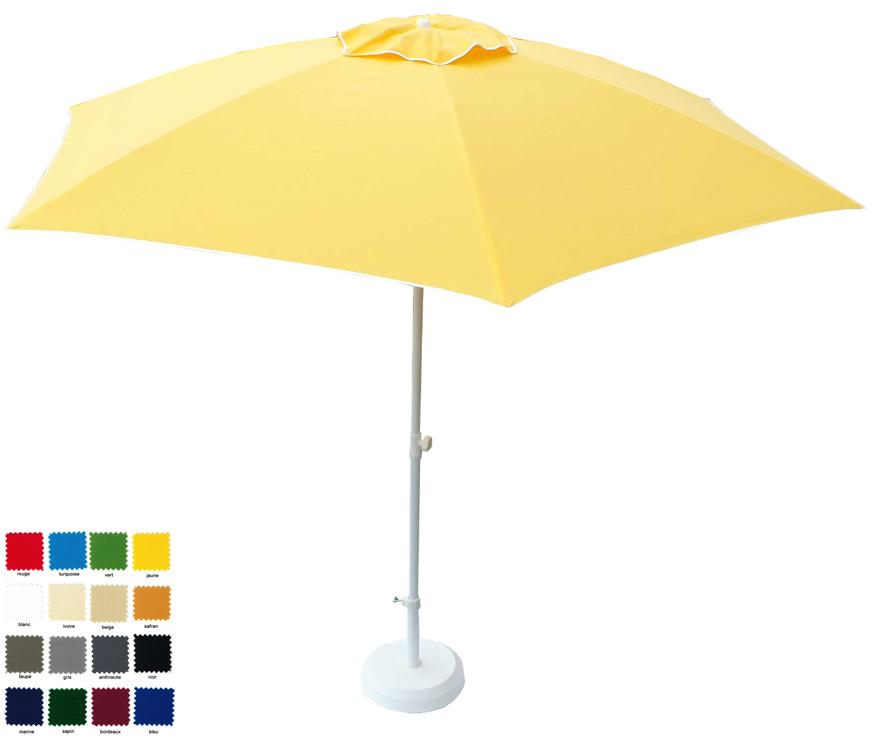 parasol hexagonal Ø280cm  à votre couleur . Délai 7 jours ouvrés !