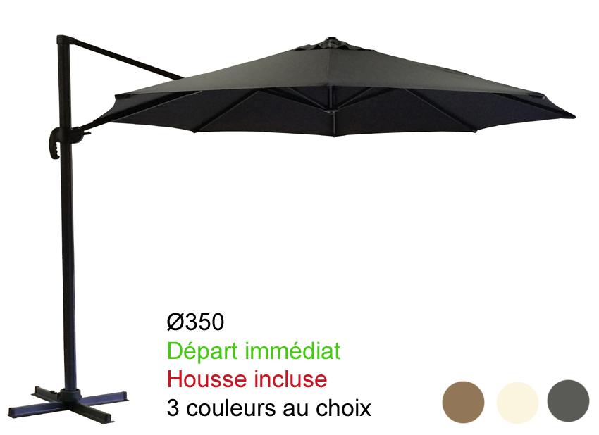 housse de parasol excentr. Black Bedroom Furniture Sets. Home Design Ideas