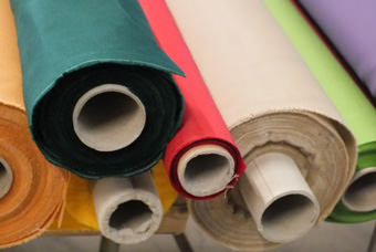 Toile parasol a la coupe, tissu vendu au mètre.