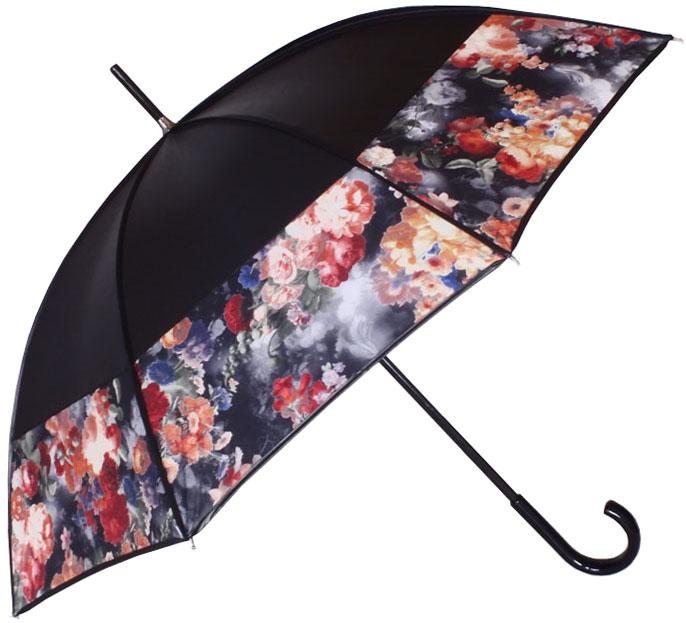 Parapluie bandeau gansé noir