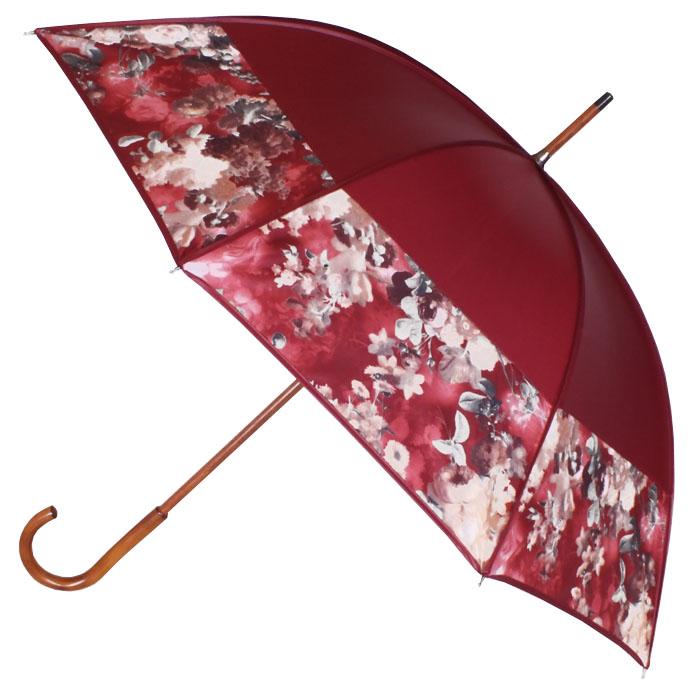 Parapluie bandeau gansé bordeaux