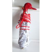 Parapluie mini automatique canard rouge