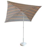 parasol rectangulaire 200x150 doublé safran