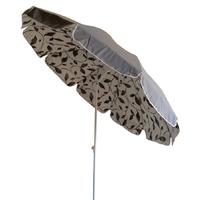 parasol rond Ø200 doublé gris