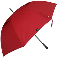 Parapluie golf anti-vent rouge carmin