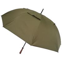 Parapluie-golf anti-vent-kaki