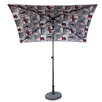 parasol rectangulaire 200x150 paris