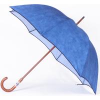 parapluie suédine bleu