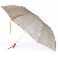 parapluie pliant acier suédine bronze