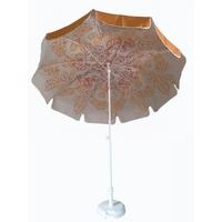 parasol rond Ø240 doublé safran
