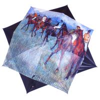 """parapluie  Degas """"Cavaliers par temps de pluie"""""""
