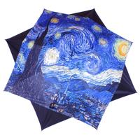 """parapluie Van Gogh """"Nuit étoilée"""""""