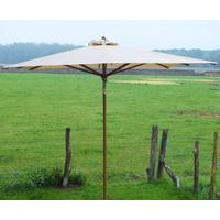 Parasol bois carré 3x3m