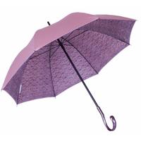 Parapluie doublé dentelle rose