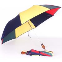 Parapluie pliant automatique arlequin