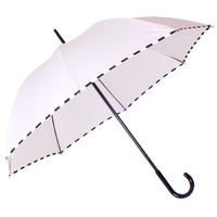 Parapluie droit damier ivoire