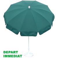 parasol rond Ø200 à 10 baleines. Plusieurs couleurs en stock !