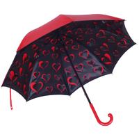 Parapluie doublé coeur