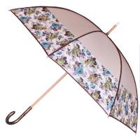 Parapluie bandeau gansé beige