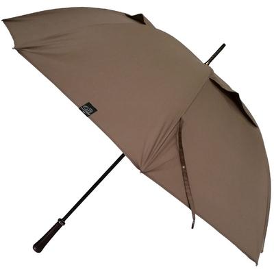Parapluie golf anti-vent taupe