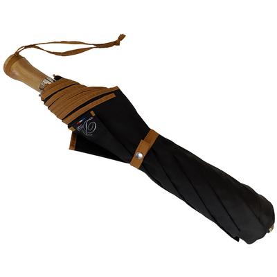 Grand parapluie pliant noir