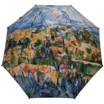 """Parapluie mini automatique Paul Cézanne """"Montagne Sainte Victoire"""""""