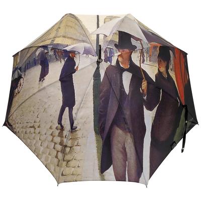 """Parapluie long automatique Caillebotte """"Paris sous la pluie"""""""
