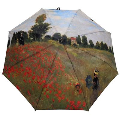 """Parapluie mini automatique Renoir """"Champs de coquelicots"""""""