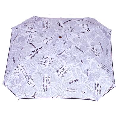 parapluie pliant carré acier journal