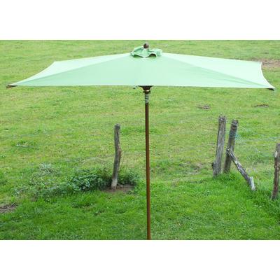 Parasol bois rectangulaire 3x2m
