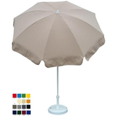 parasol rond Ø180cm à votre couleur . Délai 7 jours ouvrés !