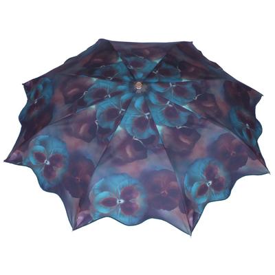 Parapluie mini pensée bleu