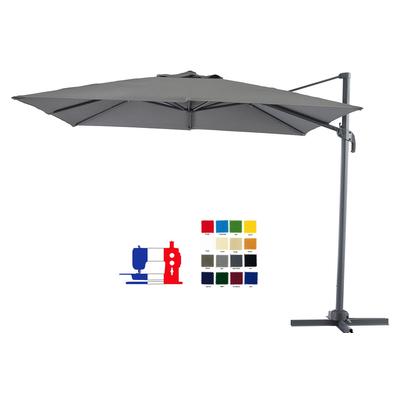 Parasol excentr rectangulaire 4x3 votre couleur et avec - Parasol deporte rectangulaire 4x3 ...
