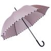 Parapluie droit damier beige