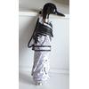 Parapluie mini automatique canard noir