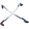 Chariot à 4 roulettes pour pieds de parasol