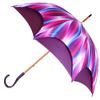Parapluie doublé prune