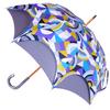 Parapluie doublé gris
