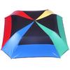 parapluie pliant acier carré multicolore