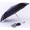 parapluies mini pliant damier noir