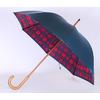 Parapluie doublé écossais rouge
