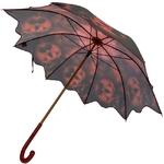 2021-parapluie-long-pensée rouge-vue-latérale