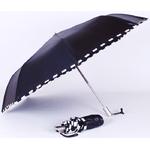 parapluie-mini-damier-noir