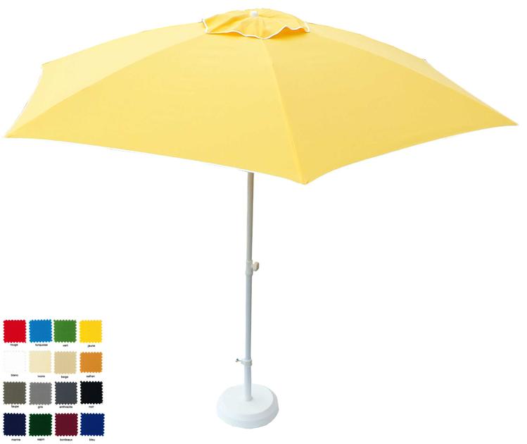 Parasol Rectangulaire Inclinable Pour Balcon