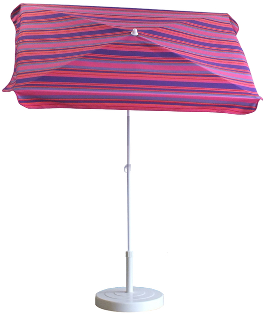 parasol rectangulaire 165x100 ray fushia parasol. Black Bedroom Furniture Sets. Home Design Ideas